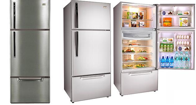 TECO 東元 變頻三門冰箱 琉璃金 R6061VXK / 古銅 R6061VXH / 極速冷凍 / 遠紅外線活化保鮮 / 奈米銀抗菌脫臭