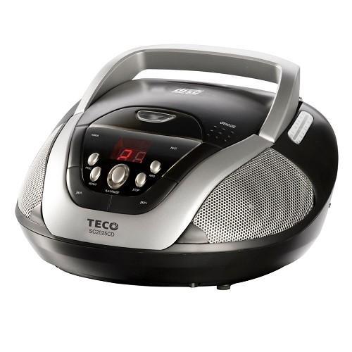 TECO 東元 手提 CD音響 SC2025CD / FM/AM收音機 / LED顯示 / 可播放CD-R