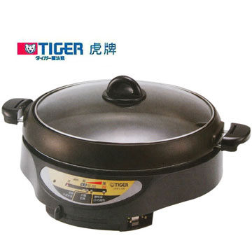 TIGER 虎牌 4L電火鍋 CPW-C13R 超厚釜設計,加熱均勻快速