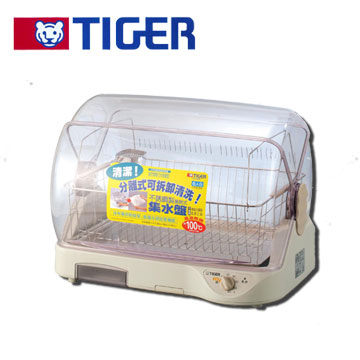 TIGER 虎牌 6人份溫風烘碗機 DHG-A40R 不銹鋼集水構造,清洗方便