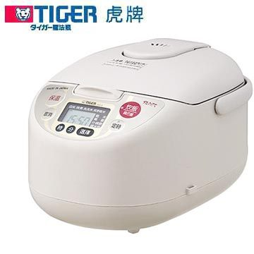 TIGER 虎牌 六人份微電腦電子鍋 JAG-A10R 遠紅外線氟素加工黑圓厚鍋