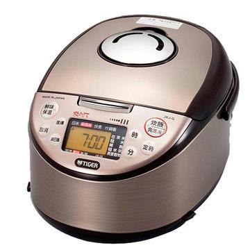 TIGER 虎牌10人份剛火IH超極電子鍋 JKJ-G18R 土鍋塗層雙銅加工全面5層鍋