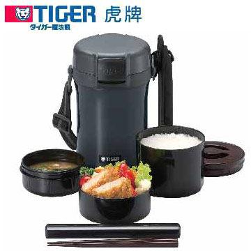 TIGER 虎牌 不鏽鋼真空保溫飯盒 LWU-A171 內部特殊鏡面加工處理
