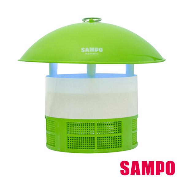 旺德 SAMPO 聲寶 光觸媒吸入式 捕蚊燈 MLS-W1301CL 防逃捕蚊室設計,蚊子只進不出,一網打盡