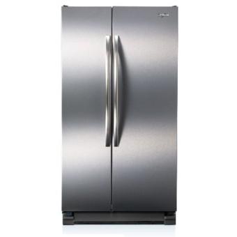 Whirlpool 惠而浦冰箱 714L 對開門冰箱 8WRS25KNBF 美國能源之星認證 多點式LED照明 隱藏式門軸 濕度控制保鮮盒