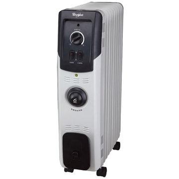 福利出清! Whirlpool 惠而浦 TMB11 11片機械式葉片式電暖器 過熱自動斷電安全裝置 智慧節能溫控(6th sense)
