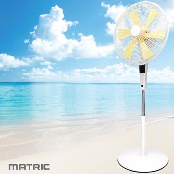 日本松木 MATRIC Whisper  純白唯漾16吋香氛DC扇 MG-DF1601W ★微電腦式遙控立扇,液晶螢幕顯示