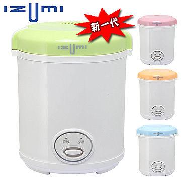 日本 IZUMI 新一代精緻電子隨行鍋*2 TMC-300 ★杏/藍 2色合購優惠價