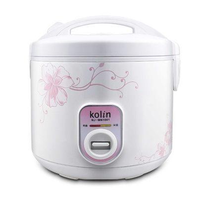 Kolin 歌林 機械式電子鍋10人份 NJ-MN1001/NJMN 1001 鋁合金內鍋不沾塗層不黏飯 時尚設計 外型美觀 米飯更香Q美味