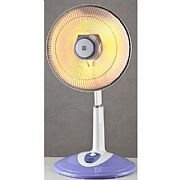 風騰 40CM 直立鹵素電暖器 (紫白色)  FT-540H