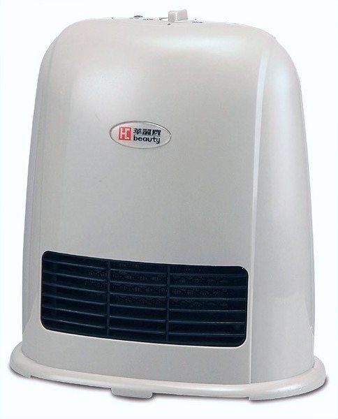 華麗 陶瓷電暖器 電暖爐 兩段式功率 灰色  HS-1203