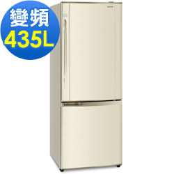 Panasonic 國際牌 435公升 變頻雙門冰箱 NR-B435HV