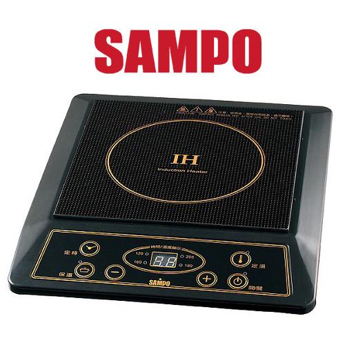 SAMPO 聲寶 IH變頻電磁爐 KM-SA13T ★IH變頻,節能省電 九段加熱及定溫/定時