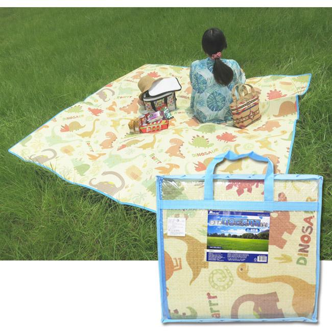 *babygo*韓國Parklon帕龍無毒地墊 - 攜帶型加大單面回紋野餐墊