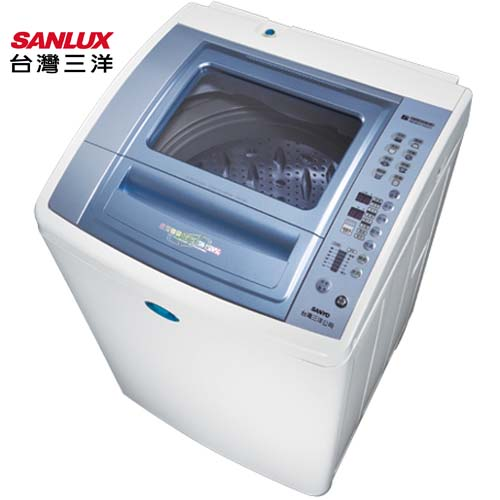 SANLUX 台灣三洋 SW-15DV5G DD變頻15kg洗衣機-強化玻璃蓋