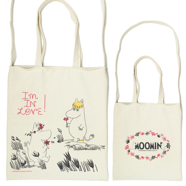 Moomin嚕嚕米授權 - 斜背包:【 獻上我的愛 】