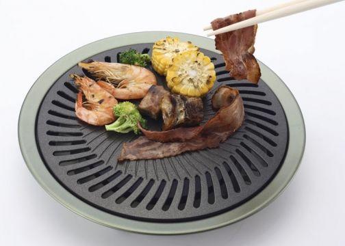 [ Wen Liang 文樑 ] 無煙烤盤 / 韓國烤肉 / 燒烤盤 / 室內外適用 / FS-360