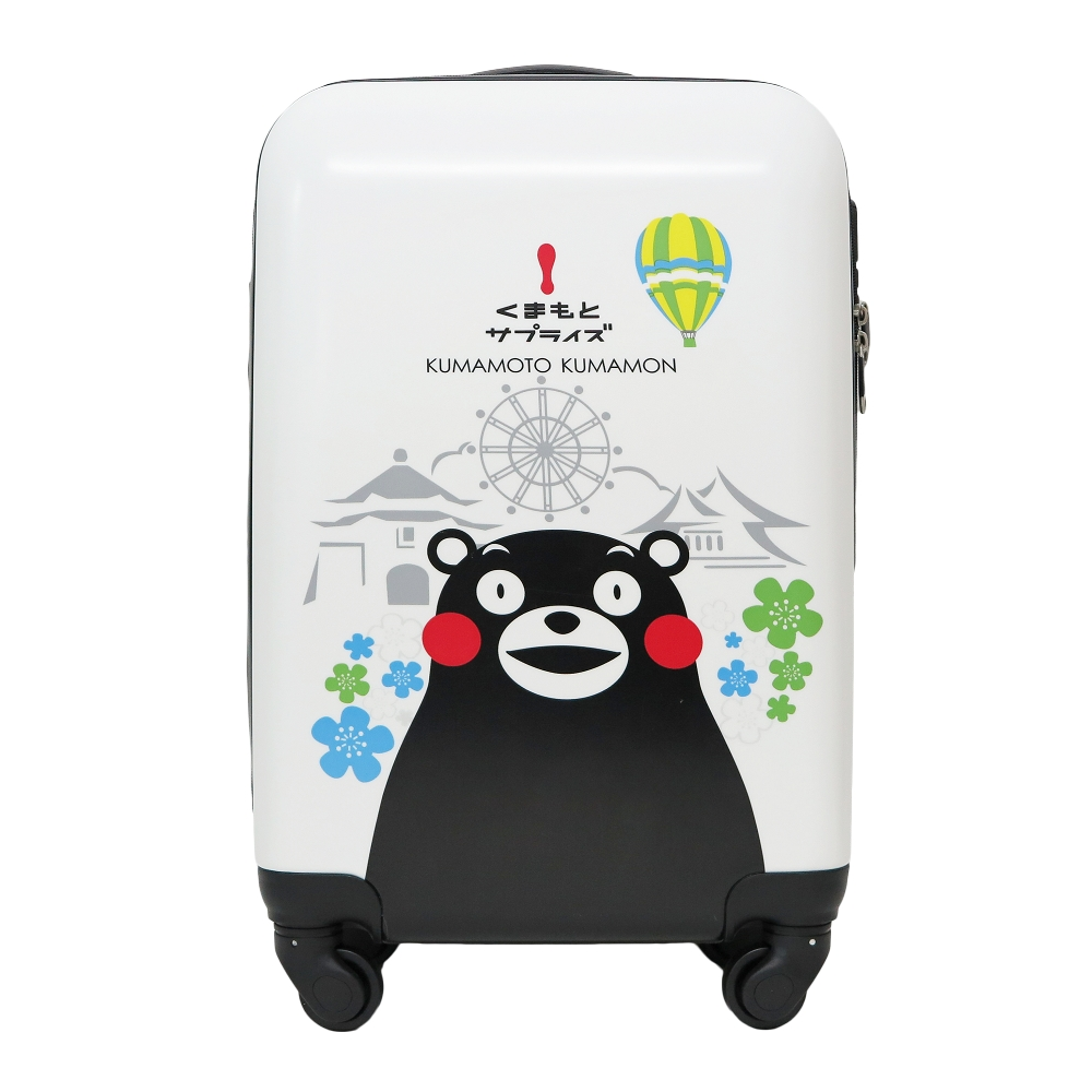【SunEasy生活館】熊本熊 Kumamon 超輕硬殼PC/ABS行李箱登機箱 20吋