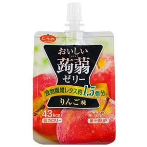 Tarami達樂美吸管蒟蒻果凍-蘋果(150g)
