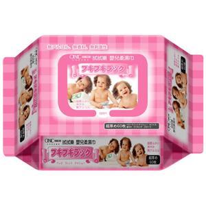 拭拭樂 超厚 嬰兒柔濕巾 (粉紅/厚) 60抽 一箱12包