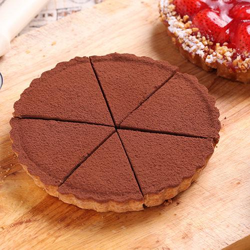 比利時72%生巧克力乳酪派(6吋)【布里王子】