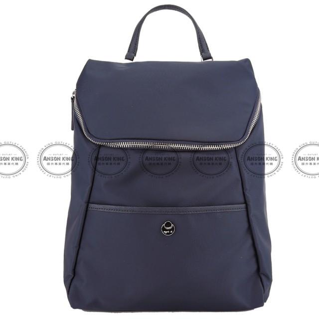 Outlet代購 agnes.b 新款簡約後背包 小b (藍色) 四色 書包 通勤包 雙肩包 斜挎包 防水