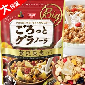 日本 日清NISSIN (500g大包裝) 早餐水果麥片 [JP471]
