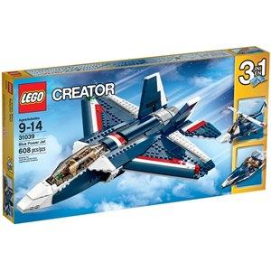 樂高積木LEGO《 LT31039 》2015 年 Creator 創意大師系列 - 藍色動力噴射機