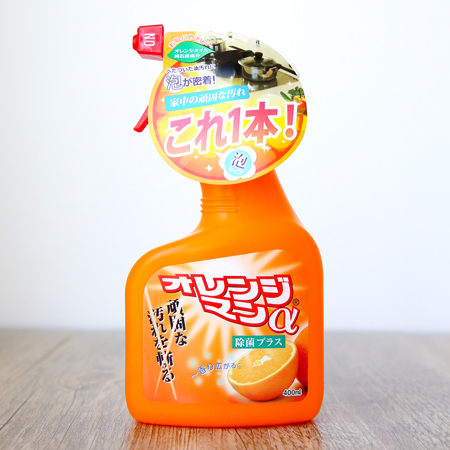 日本友和橙油除菌清潔劑400ML(冷氣、瓦斯爐、電風扇用) 阿志小舖