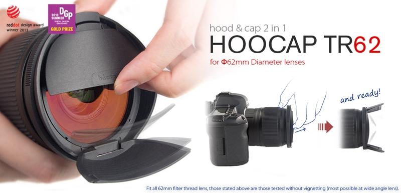又敗家@台灣Hoocap半自動鏡頭蓋TR62(取代62mm鏡頭蓋62mm遮光罩)適Sony索尼DT 55-300mm f4.5-5.6 55-200mm 70-300m f4.5-5.6  FE 90mm f2.8 Fujifilm富士XF 56mm F1.2 R 55-200mm F3.5-4.8 Nikon 70-300mm F/4--5.6G 85mm f1.8D 200mm f/4D Sigma 30mm f1.4 EX DC HSM 105mm f2.8 Tamron