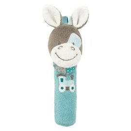 Nattou - 絨毛造型柱型bibi玩偶/加斯頓