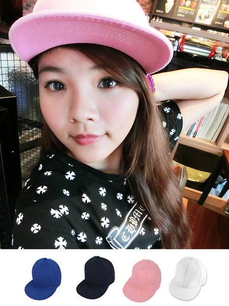 小熊日系* 夏日運動純色好搭質感棒球帽 (共4色) 現貨供應 帽子 球帽 配件