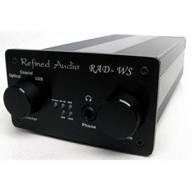 志達電子 RADWS 維凡德 Refined Audio 耳機擴大機 + USB DAC 支援光纖/同軸(24bit 192Khz) DENON 鐵三角 SENNHEISER