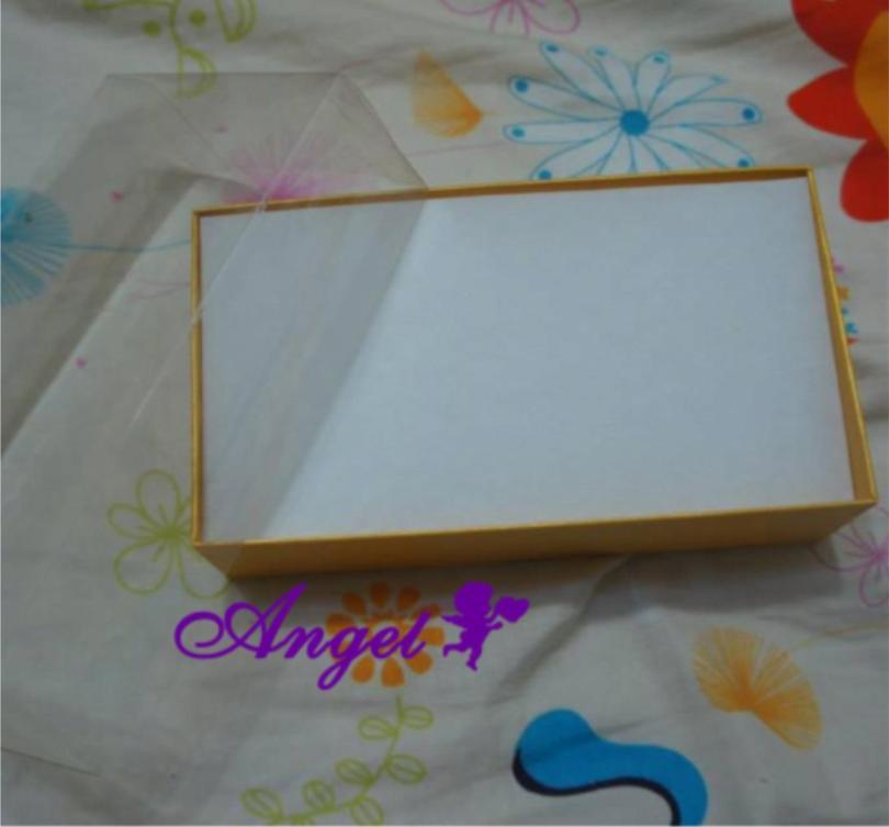 天使嫁衣【H130】黃色實拍小長型飾品包裝盒˙現貨特價出清