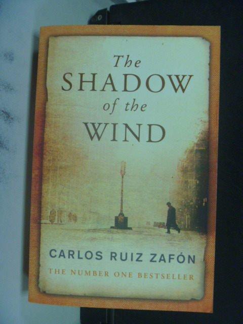【書寶二手書T8/原文小說_KNM】Shadow of the Wind_Zafon
