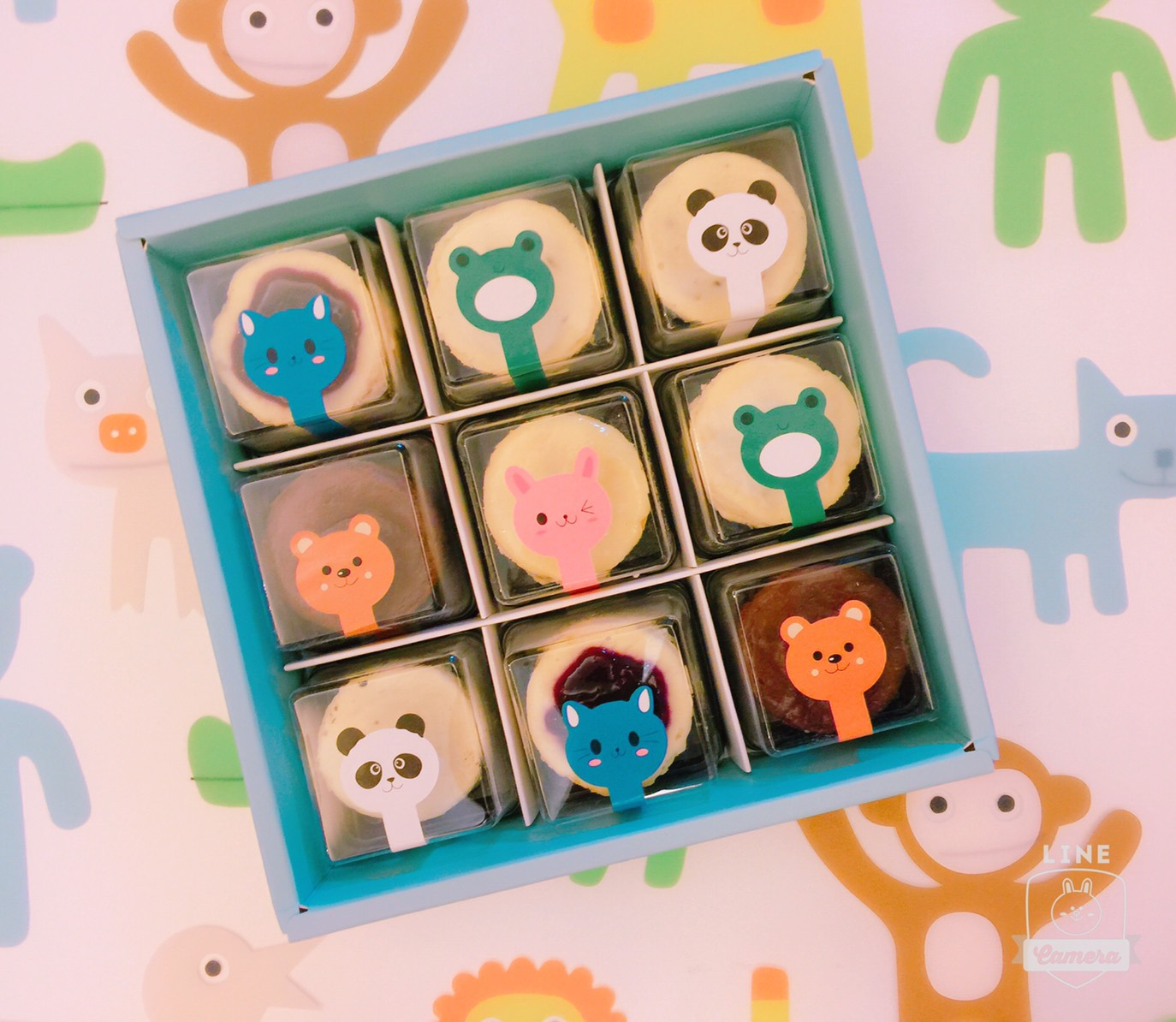 Baby cheesecake 9入禮盒【五種口味,一次滿足】