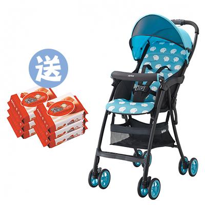 【悅兒樂婦幼用品舘】Aprica愛普力卡 Magical air S 超輕量單向嬰幼兒手推車-小綿羊【送濕巾20抽x2】