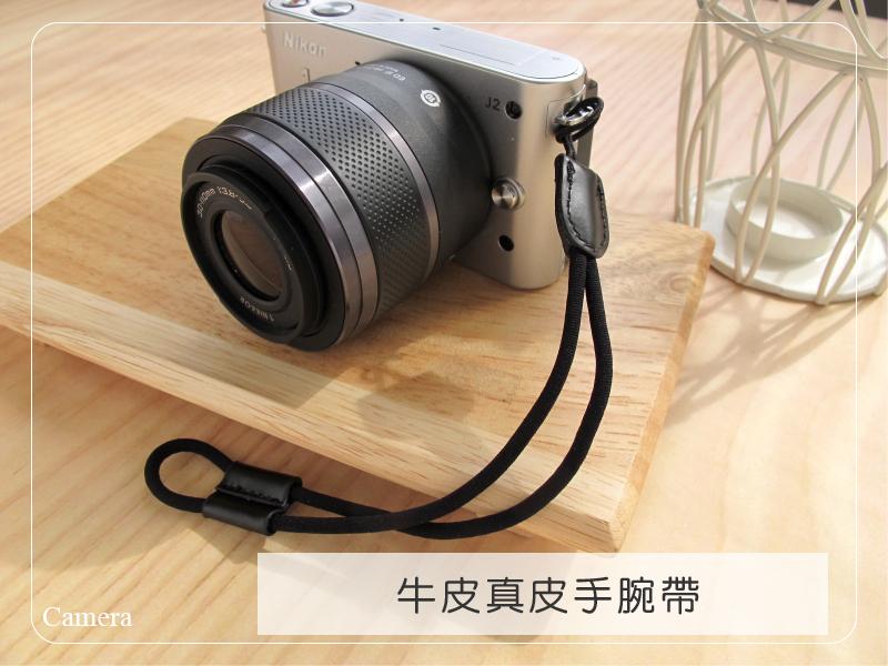 日光城。純牛皮真皮相機手挽帶,手繩帶 手腕帶 LX7 S100 GF5 GF3 F3 V1 J1 EX2 GX1 NEX5 GRD4(4001)