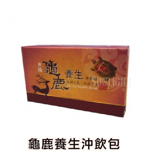 日光城。東陽製藥- 龜鹿養生沖飲包 15gX5包/盒