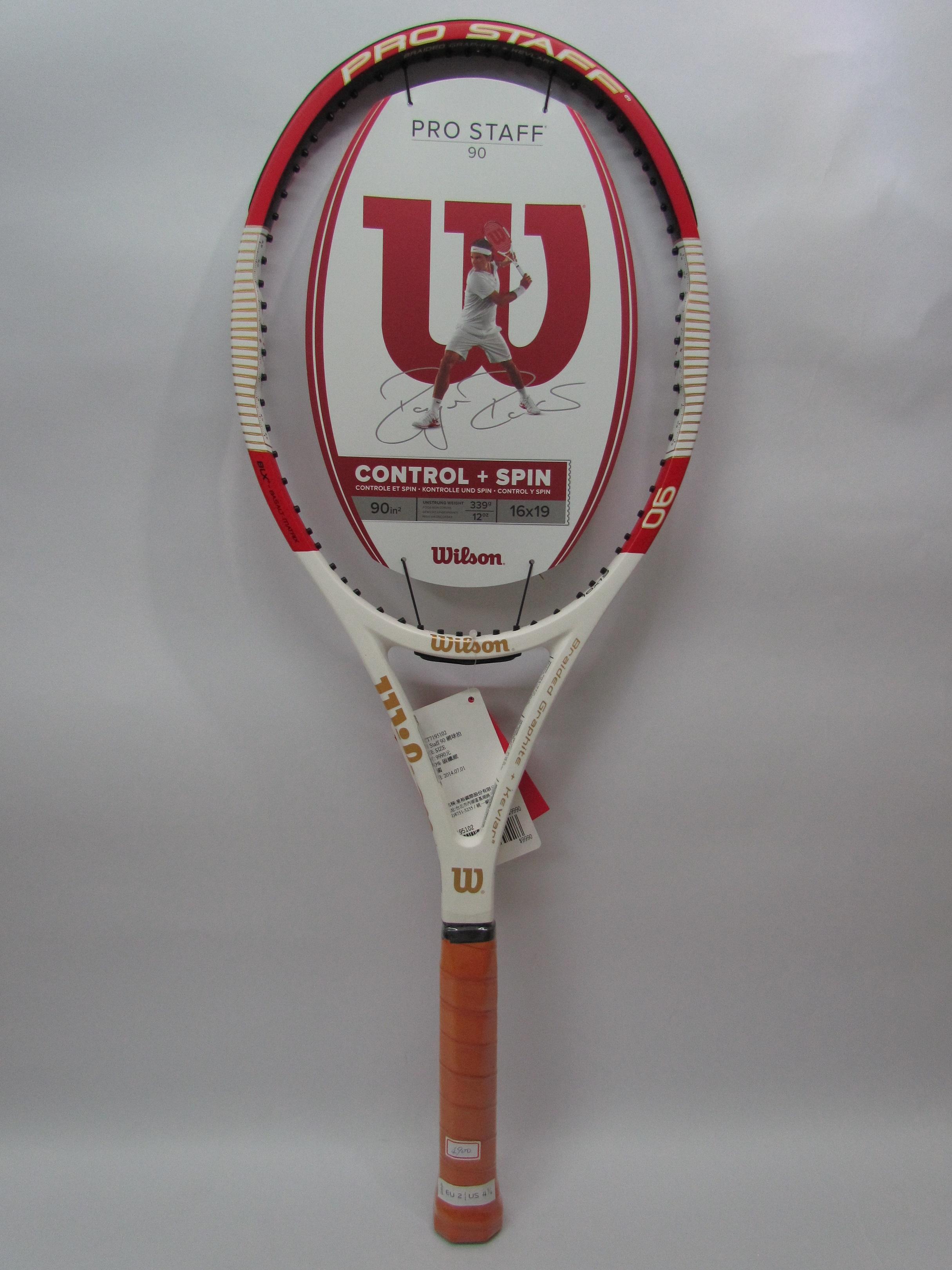 Wilson專業網球拍 Federer款 Pro Staff 90