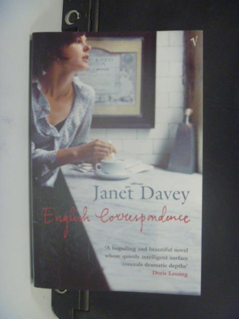 【書寶二手書T4/原文小說_HHE】English Correspondence_Janet Davey