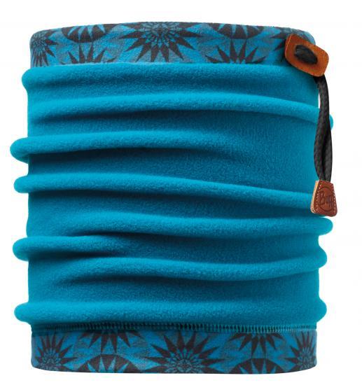 Buff 健行/滑雪/旅遊 頭巾/頸圍/刷毛圍巾/脖圍 抽繩POLAR保暖領巾 108989 輪狀花筒