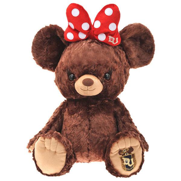 日本直送 2015年日本東京Disney store限定 大學熊米妮 BIG SIZE