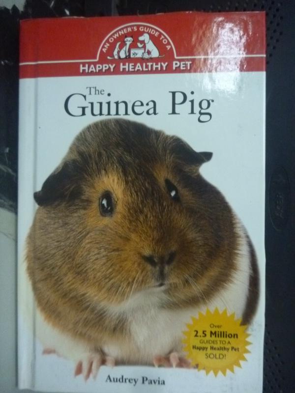 【書寶二手書T6/科學_HCN】Guinea Pig_Audrey Pavia