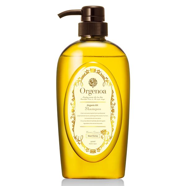 Orgenoa 蜂蜜養護洗髮精 500ml (優雅蜂蜜)
