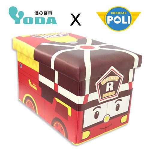 【POLI 變形車系列】YODA 波力救援小英雄 收納箱-羅伊