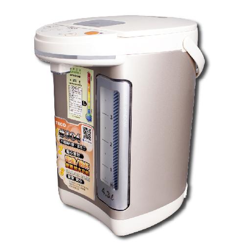 贈品出清 東元 TECO 4.3公升熱水瓶 YD4301CB