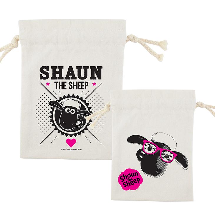 笑笑羊正版授權(Shaun The Sheep) - 束口袋:【 Vogue 】