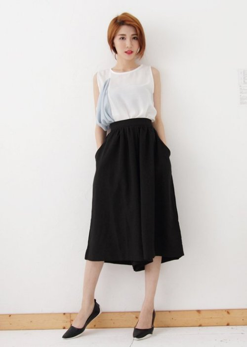 Pyf ♥ 超舒適軟膠底 金屬光澤 軟皮 黑色 平底鞋 寬楦 40-42大尺碼女鞋