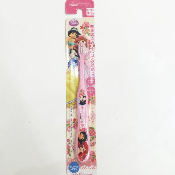白雪公主 阿拉丁公主 小美人魚愛莉兒 牙刷 兒童牙刷 嬰幼兒 0~3歲 39元 居家 正版日本進口 JustGirl
